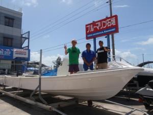 ボート作ってます!